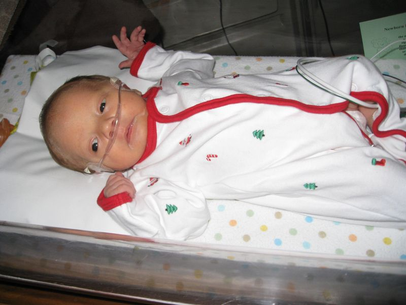 Santa in the NICU 031